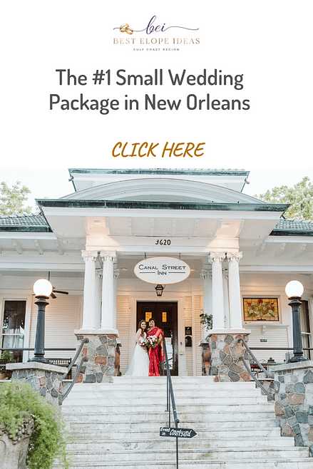 The #1 Small Wedding Package in New Orleans