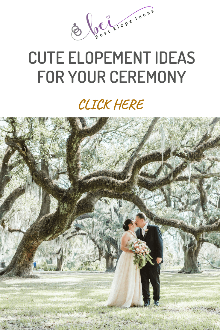 Cute Elopement Ideas For Your Ceremony
