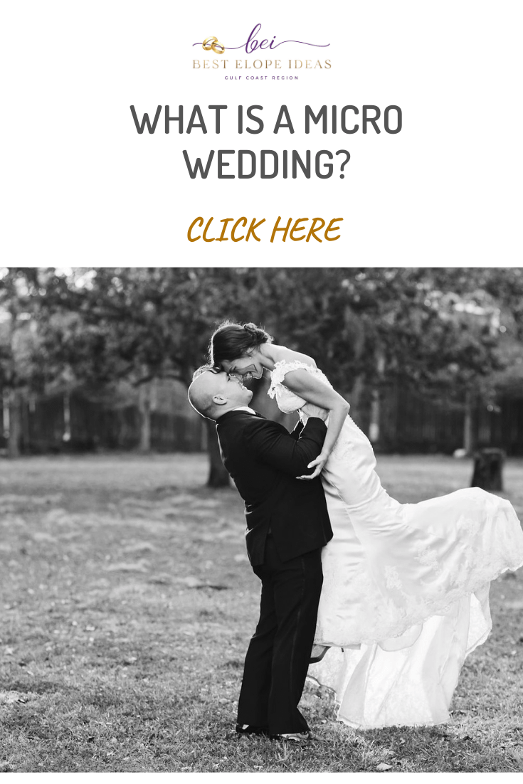 WHAT IS A MICRO WEDDING?