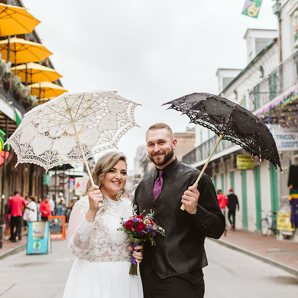 French Quarter Dream Wedding – Click for more info