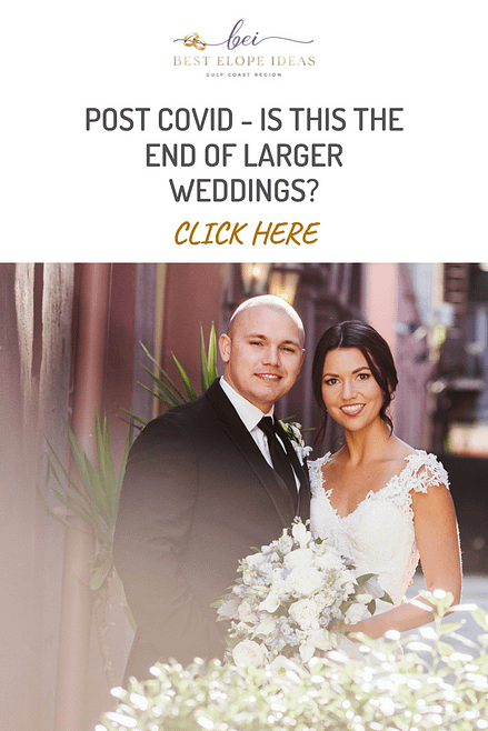 POST COVID – IS THIS THE END OF LARGER WEDDINGS?