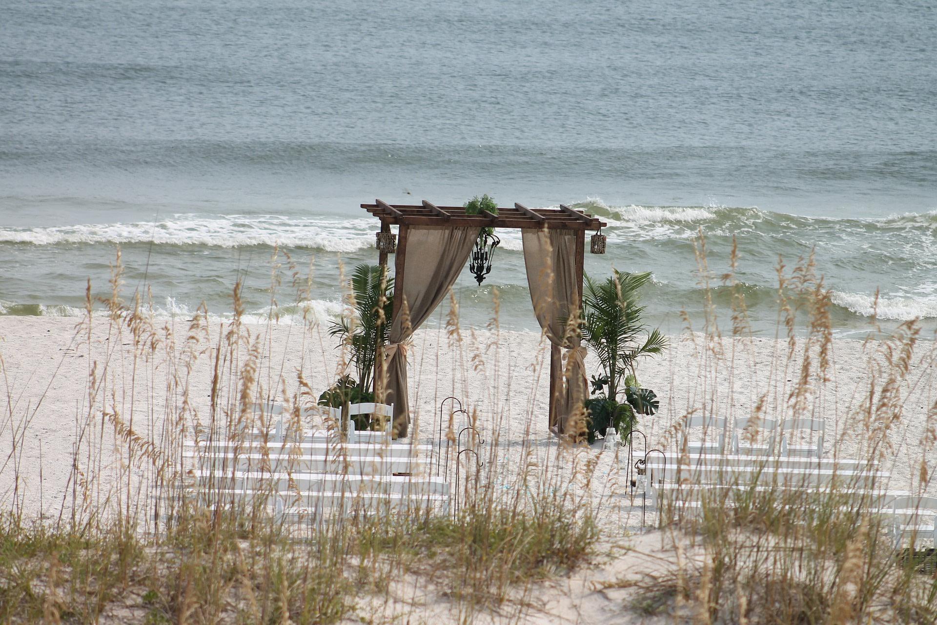 Mississippi Beach Wedding