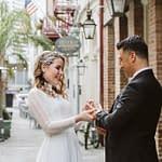 Exchange Alley Wedding