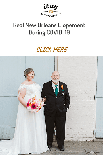 Real New Orleans Elopement During COVID-19