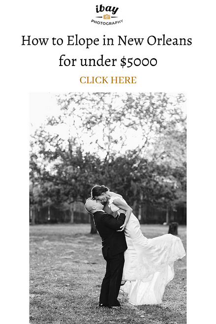How to Elope in New Orleans for under $5000