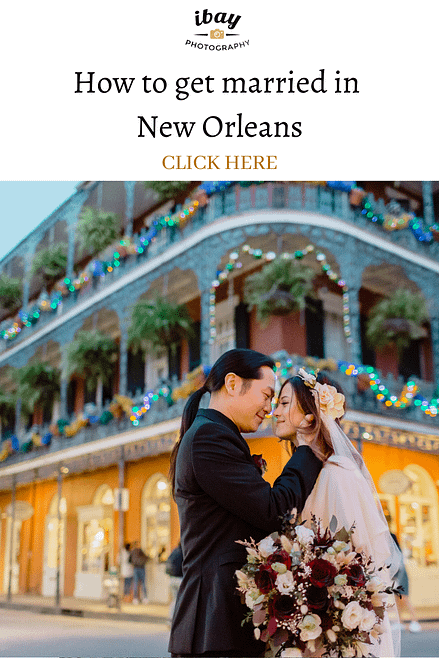 How to get married in New Orleans