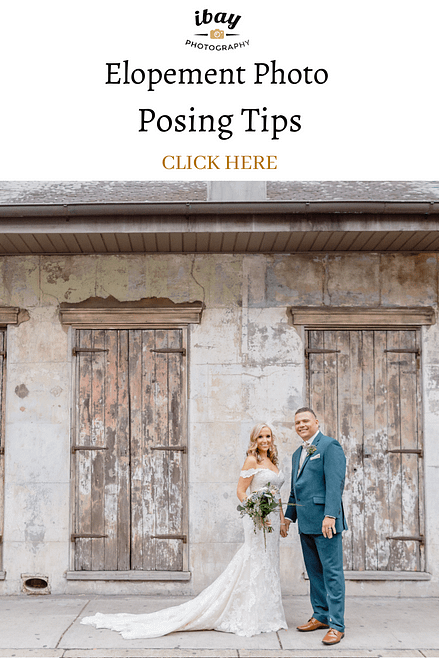 Elopement Photo Posing Tips