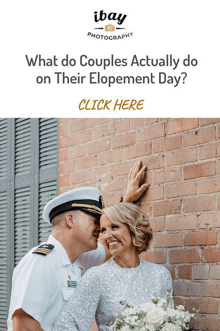 What do Couples Actually do on Their Elopement Day?