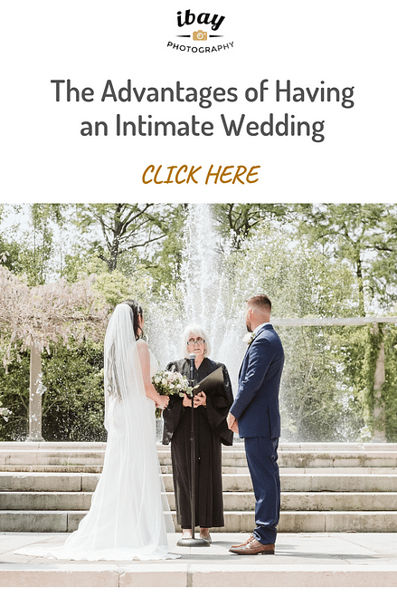 The Advantages of Having an Intimate Wedding