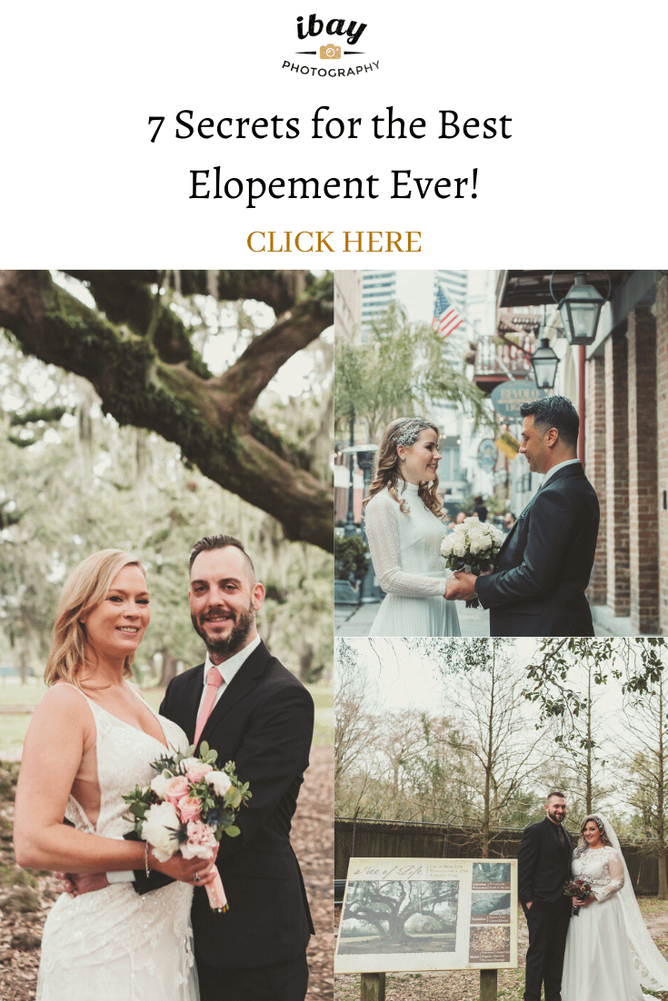 7 Secrets for the Best Elopement Ever!