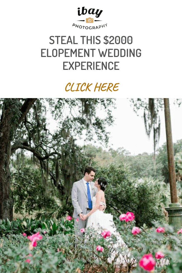 STEAL THIS $2000 ELOPEMENT WEDDING EXPERIENCE